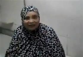 """مصرية فى الثمانين تخوض تتحدى """"دلو الثلج"""" لـ""""عيون السيسي"""""""