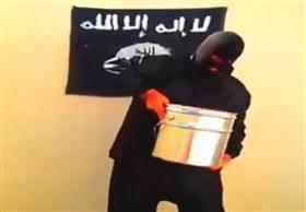 """""""داعش"""" تخوض تحدي """"دلو الدم المثلج"""" علي طريقتها الخاصة"""