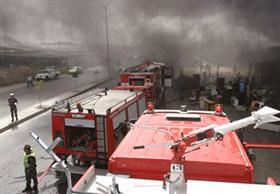 رئيس المترو: حريق مبنى الهيئة برمسيس بسبب