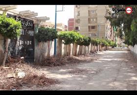 حواجز خرسانية تطوق مدرسة بدوي الآيلة للسقوط لدواعي أمنية