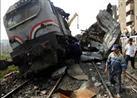 إصابة 36 فى انقلاب قطار ببني سويف والصحة تؤكد : لاوفيات