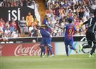 """بالفيديو- ميسي يقود برشلونة لانتزاع فوزًا قاتلا أمام فالنسيا بملعب """"الخفافيش"""""""