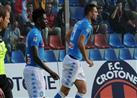 بالفيديو- نابولي ينتزع المركز الثالث في الدوري الإيطالي بتغلبه على كروتوني