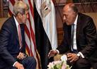 وزير الخارجية يبحث مع نظيره الأمريكي الأوضاع الإنسانية المتردية بسوريا