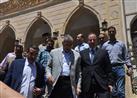 بالصور.. وزير التنمية الإدارية يفتتح مسجدا بالبحيرة