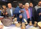"""بالصور - افتتاح معرض """"أفريقيا آفاق جديدة"""" بجامعة القاهرة"""