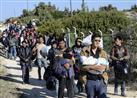 تراجع ملحوظ في أعداد اللاجئين الوافدين إلى اليونان الشهر الماضي