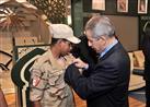 السعودية تكرم مجندا مصريا وتمنحه نوط الشرف من الدرجة الأولى
