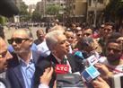 بالصور - صباحي ينضم للصحفيين في وقفتهم..ويطالب بالإفراج عن سجناء الرأي