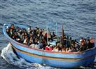العثور على قارب يحمل أشخاص ضلوا طريقهم في هجرة غير شرعية بكفرالشيخ