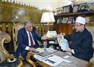 وزير الأوقاف يستقبل سفير مصر بالمغرب - (صور)