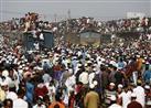 بالفيديو: أكبر تجمع للمسلمين بعد الحج