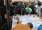 """بالصور- """"مصر للطيران"""" تنقل مريضة مصرية وزنها 500 كجم للعلاج في الهند"""