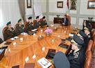 السيسي يناقش الأوضاع الأمنية مع قيادات القوات المسلحة والشرطة