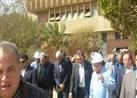وزير النقل يتفقد سير العمل في ورش كوم أبوراضي ببني سويف