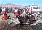 مقتل طفل وإصابة 60 شخصًا في تصادم 130 سيارة في إيران