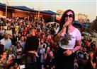 بالصور- أول حفل لشاهيناز بعد خلعها الحجاب