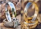 """بالصور.. مصور يبتكر طريقة تصوير للعروسين على انعكاس """"الدبلة"""""""