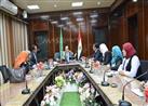 محافظ الدقهلية يلتقي بأعضاء الدفعة الأولى من البرنامج الرئاسي لتأهيل الشباب