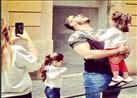 """خالد سليم يحتفل بعيد ميلاد طفلته """"كنزي""""- صورة"""