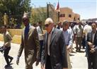 بالصور.. وزير الري الصومالي يصل الوادي الجديد