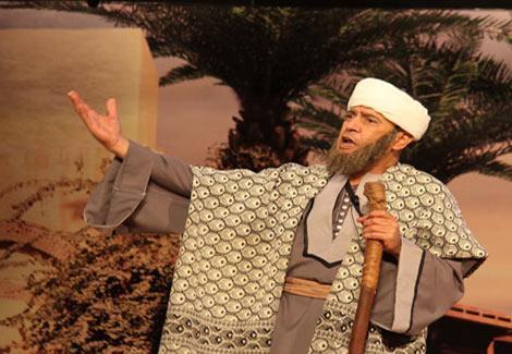 اشرف عبد الباقى تياترو مصر 18-4-2014