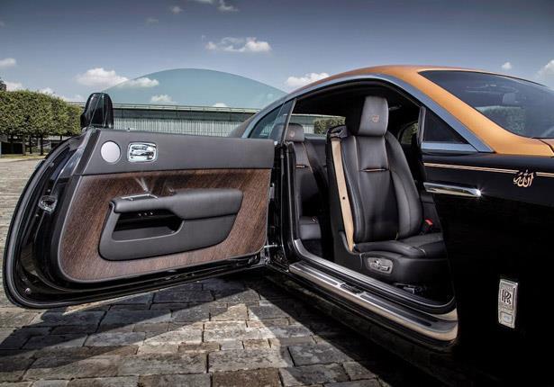 بالصور : شركة رولز رويس العالمية تطرح سيارة إسلامية موديل 2015