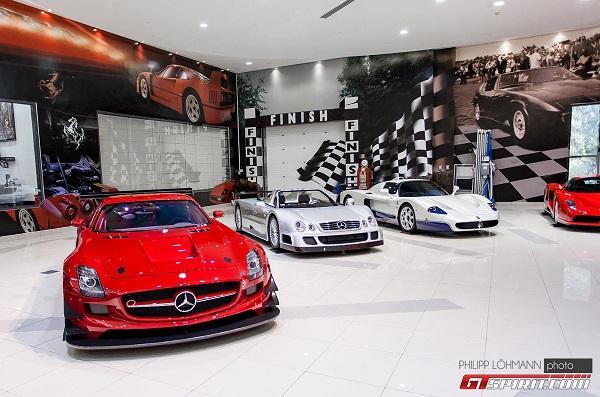 صور وفيديو: اسطول سيارات اسطورى لشيخ اماراتى 10 4/8/2015 - 11:14 م