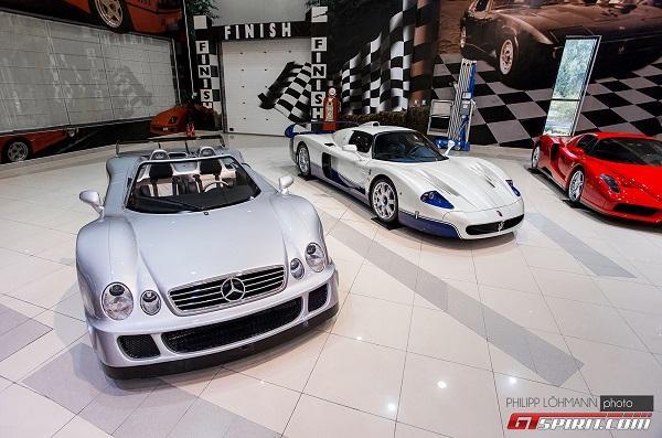 صور وفيديو: اسطول سيارات اسطورى لشيخ اماراتى 15 4/8/2015 - 11:14 م