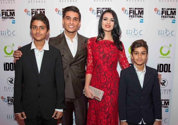 شاهد..وليد البراهيم و عساف وخطيبته ضيوف فعاليات مهرجان لندن السينمائي
