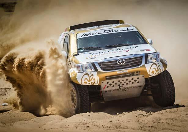 اليوم الأول رالي أبوظبي الصحراوي