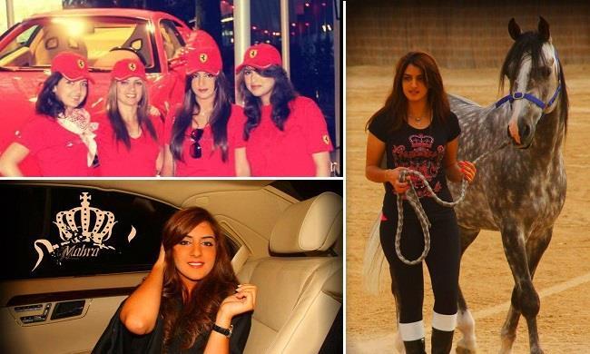 """سيارات """"جميلة دبي"""" الأميرة مهرة بنت حاكم دبي"""