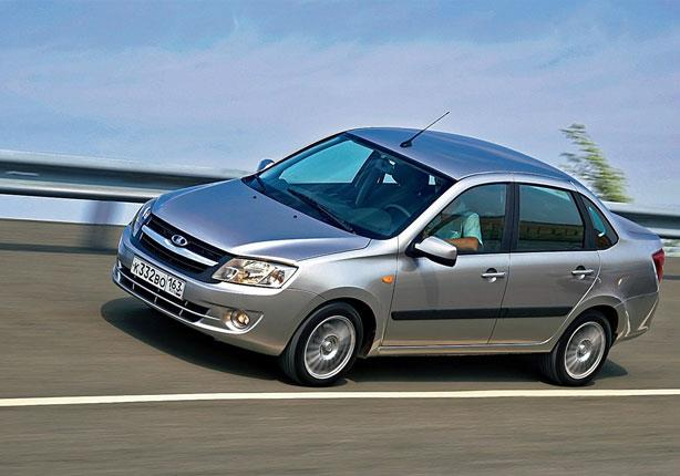 أسعار ومواصفات السيارة الروسية لادا جرانتا في مصر