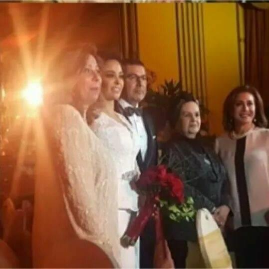 2016 12 18 13 34 46 782 - بالصور زفاف داليا البحيري على رجل أعمال بأحد فنادق القاهرة