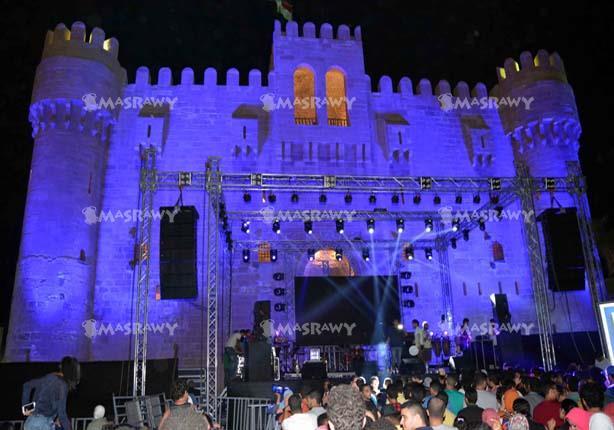 بالصور.. شارموفرز ينافس فرق الإسكندرية في قلعة قايتباي