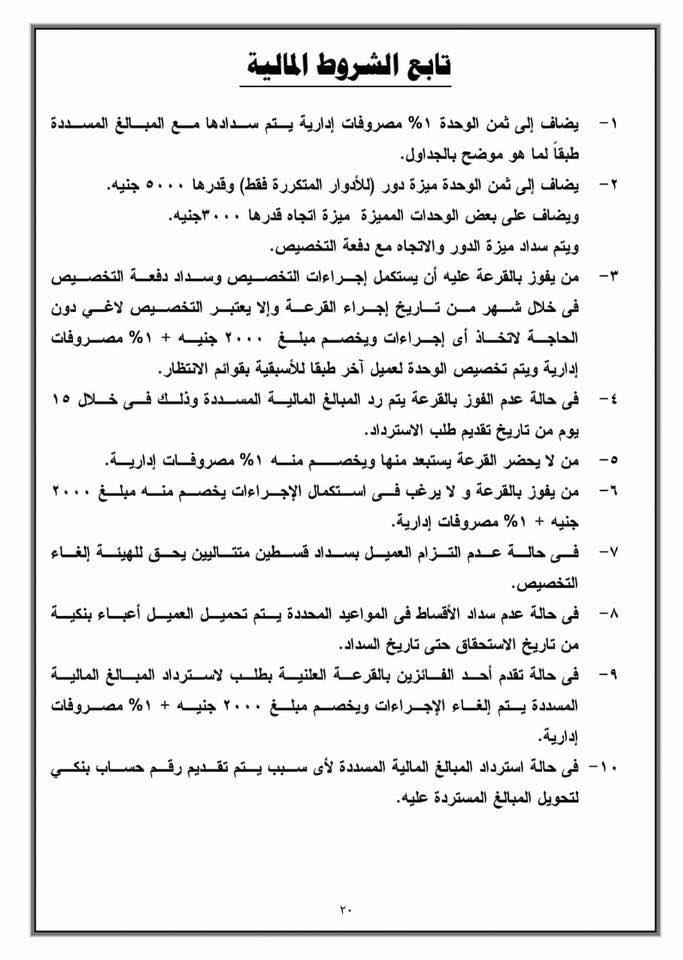 """بالشروط والأسعار.. """"الإسكان"""" تطرح شقق لؤلؤة القاهرة الجديدة بالقرعة العلنية شاهد كراسة الشروط"""