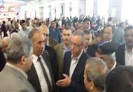 بالصور- وزير الطيران يتابع تجارب التشغيل النهائي لمبنى الركاب الجديد بمطار الغردقة
