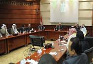 بالصور- رجال أعمال سعوديون لمحلب: استثمارتنا قائمة ونعد بزيادتها