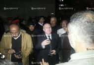 بالصور.. المحافظ ومدير الأمن يتفقدان موقع انفجار بورسعيد