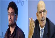 مصراوي ينفرد بأول اتصالات بين حملة البرادعي ووائل غنيم