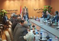 بالصور.. الزند يجتمع بمساعديه ويشكل غرفة عمليات لمتابعة انتخابات البرلمان