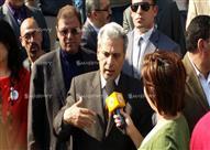بالصور - رئيس جامعة القاهرة يقود مسيرة ضد التحرش بالمرأة.. ويؤكد