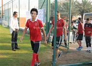 مران الأهلي في معسكر دبي