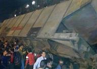 """انقلاب قطار بضائع بخط """"الإسكندرية - مطروح"""""""