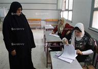 14 صورة ترصد ضعف إقبال الناخبين بالمطرية بعد مرور 6 ساعات