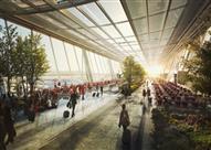 بالصور - تايوان تخطط لبناء مطار المستقبل