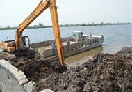 السيسي يوجه بتكثيف أعمال إزالة التعديدات على نهر النيل