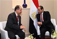 السيسي لمسئولين عراقيين: مصر مستعدة لتقدم كافة سبل الدعم لاستعادة أمن العراق
