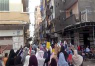 بالصور.. أول مظاهرة لإخوان الإسكندرية ضد تعيين
