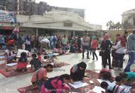 بالصور.. أول مهرجان لرسم الأطفال في الإسكندرية
